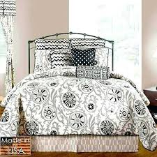 navy white hotel twin duvet style comforter set cotton for students