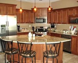 Corner Kitchen With Island Designs