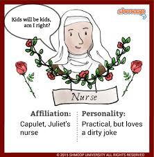 the nurse in romeo and juliet character analysis