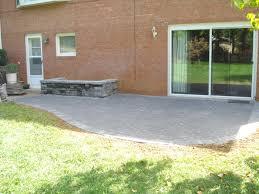 simple patio designs concrete. Simple Stone Patio Design Ideas Poured Concrete Designs