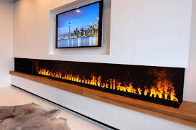 linear outdoor gas fireplace fresh linear electric fireplace using the revolutionary ultrasonic