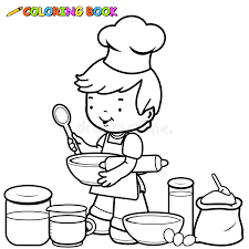 Small Picture Family Cooking Colouring Pages Coloring Home Coloring Coloring Pages