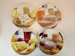 Dora Papis Design Box Set 4 Porcelain Cheese Plates Easy Life Dora Papis Italian Design Cocktail