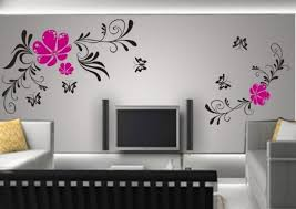 awesome wall paint designs for living room