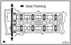 Toyota Camry: Camshaft (2AZ−FE)(From July, 2003) - Engine mechanical