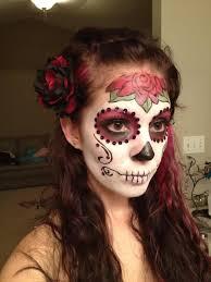 dia de los muertos makeup idea 2