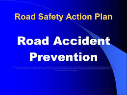 road safety action plan ppt  road safety action plan