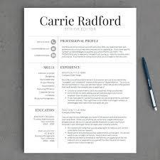 Modern Resume Template Word Format Sample Teacher Resume Template Modern Cv Word With Photo