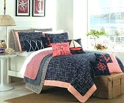 coastal quilt sets. Coastal Comforter Sets Queen Nautical Bedspread Sheets Size Quilt Max Studio