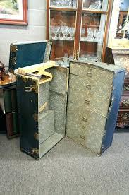 steamer trunk wardrobe antique wardrobe for new steamer trunk wardrobe steamer trunk co original antique