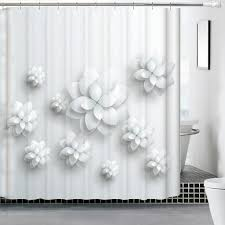 water mildew proof 3d shower curtain collection