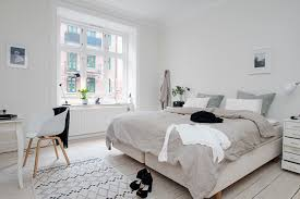 Bedroom Design In Scandinavian Style Naturalness And Simplicity ...