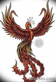 эскизы тату феникса для девушек 08032019 017 Tattoo Sketches