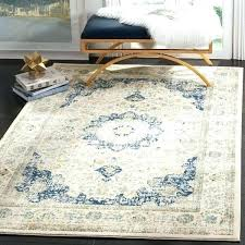 vintage area rug by evoke oriental ivory blue distressed stone safavieh grey 8x10 r