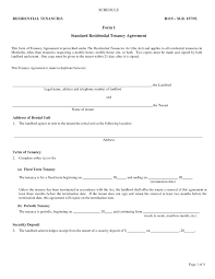 Free Rental Lease Agreement Template Sample Agreements Month To Pdf ...