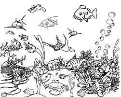 Coloring Printables For Kids Ocean Value Ocean Coloring Pages 6 In