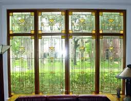craftsman stained glass craftsman stained glass window panels craftsman stained glass transom