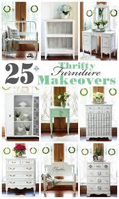 furniture makeovers. 25+Thrift Store, Yard Sale, Estate Sale Furniture Makeovers From Confessionsofaserialdiyer.com I