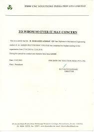 Certificate Format Training Completion Copy Impressive Letter Format
