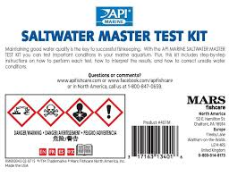 Api Saltwater Master Test Kit Chart Api Salt Water Master Test Kit Petoxy