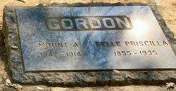Belle Priscilla Lyon Gordon (1855-1935) - Find A Grave Memorial