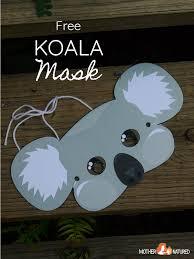 See more ideas about printable masks, mask for kids, halloween masks. Free Printable Koala Mask For Kids Mother Natured