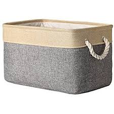 Decorative Fabric Storage Boxes Amazon TheWarmHome Decorative Collapsible Rectangular Fabric 19