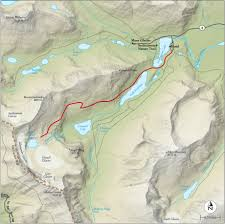 best glacier national park hike trail map  national geographic
