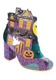 Irregular Choice Shoe Size Chart Irregular Choice Ghost House Halloween Heeled Boots