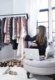 romantic decor home office. Home-office-tour-blogger-fashion-decorating-ideas-tufted- Romantic Decor Home Office O