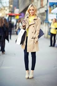 how to wear to a trench coat