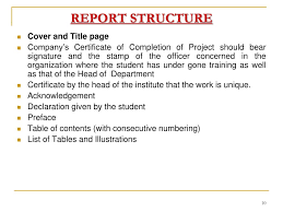 Training Report Cover Page Ppt Summer Training Presentation Powerpoint Presentation