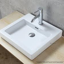 faucet vessel 1 625 pop up bathroom sink drain with overflow