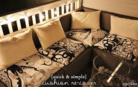 quick simple no sew cushion
