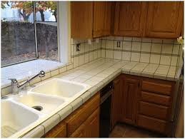 Tiled Kitchen Kitchen Tile Kitchen Countertops Diy Image Of Subway Tile