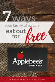 7 ways our family eats at applebees for practically free