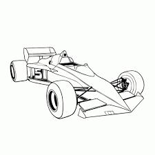 Formule 1 Racewagens Kleurplaten Leuk Voor Kids Idee Race Auto