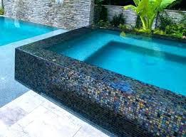 marvelous glass pool tile iridescent glass pool tile a mix of three pool glass tile pool