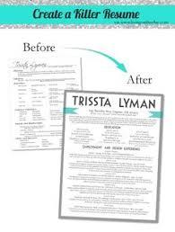 5 Tips to create a killer resume - design ideas.