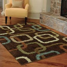 5 x 6 rug. Shag Lynx Chocolate Woven Rug 5 3 X 7 6 Sam S Club For Design