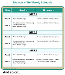 Na 12 Step Worksheets Worksheets for all | Download and Share ...