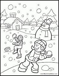 Small Picture Winter Wonderland Coloring Pages Coloring Home