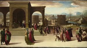 domenico beccafumi the story of papirius mid 1520s the national gallery