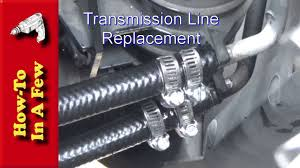 How To: Repair Leaky Transmission Lines on a Dodge Ram 2500 - YouTube