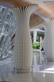 limestone column.  Creative Designs