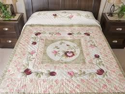 I Promised You a Rose Garden Quilt -- wonderful smartly made Amish ... & I Promised You a Rose Garden Queen Size Bed Quilt Photo ... Adamdwight.com