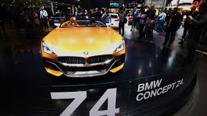 2017 BMW Z4 concept | Motor1.com Photos