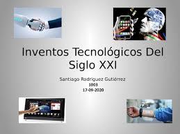 Calaméo - Inventos Tecnológicos Del Siglo Xxi