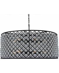 drum crystal chandelier breathtaking slash s on cassiel large black interior design 7