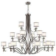 kichler 42396ap lacey antique pewter lighting chandelier loading zoom